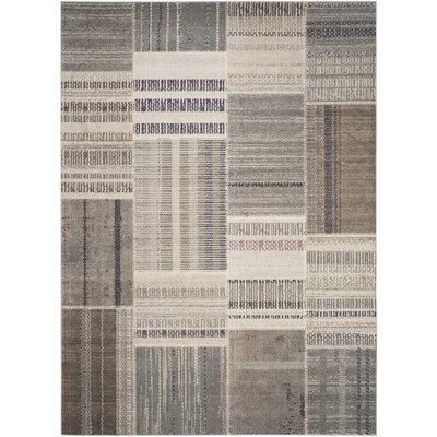 Lake Park Gray Area Rug Rug Size: 8 x 11