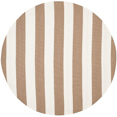 Sky Hand-Woven Sand/Ivory Area Rug Rug Size: Rectangle 9 x 12