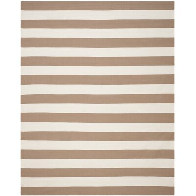 East Thermopolis Sand/Ivory Area Rug Rug Size: 6 x 9
