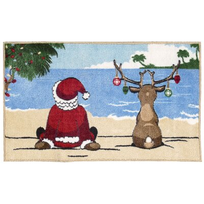Alessa and Reindeer Area Rug