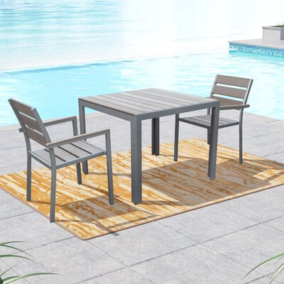 Allen 3 Piece Dining Set