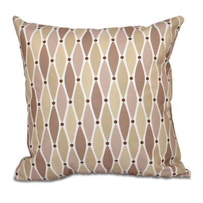 Cedarville Wavy Throw Pillow Size: 16 H x 16 W, Color: Taupe
