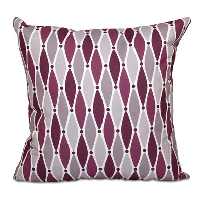 Cedarville Wavy Throw Pillow Size: 20 H x 20 W, Color: Purple