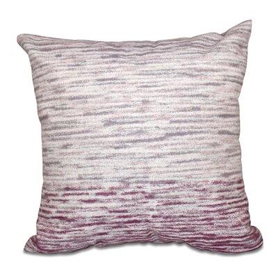 Rocio Ocean View Geometric Print Throw Pillow Size: 18 H x 18 W, Color: Purple