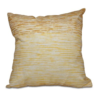 Rocio Ocean View Throw Pillow Size: 20 H x 20 W, Color: Yellow