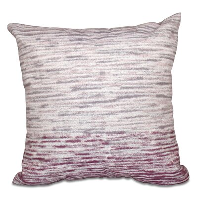 Boubacar Outdoor Throw Pillow Size: 18 H x 18 W, Color: Coral
