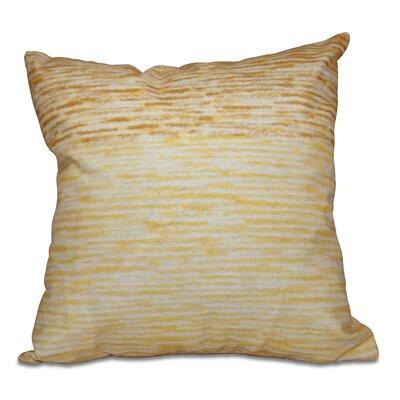 Boubacar Outdoor Throw Pillow Size: 18 H x 18 W, Color: Yellow