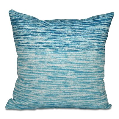 Boubacar Outdoor Throw Pillow Size: 18 H x 18 W, Color: Teal