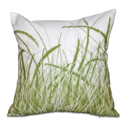 Boubacar Sea Grass Outdoor Throw Pillow Size: 20