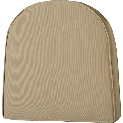 Lounge Outdoor Chair Cushion Color: Tan