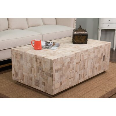 St. Lucie Wood Coffee Table