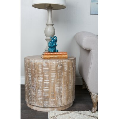 Laura End Table Finish: Tan