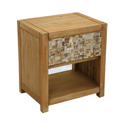 St. Lucie Square End Table