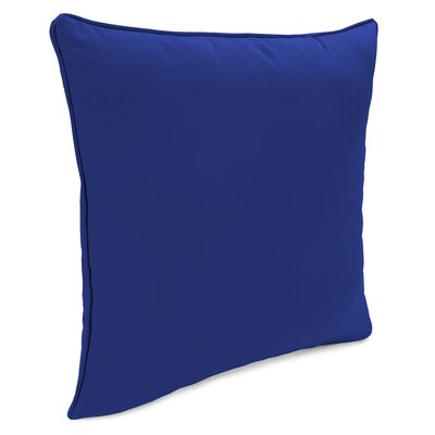 Shirley Indoor/Outdoor Throw Pillow Color: Cobalt Blue