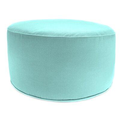 Zoila Round Pouf Ottoman Upholstery: Sunburst Pool