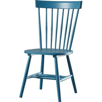 Hampton Side Chair Finish: Peacock Blue