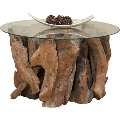Aryanna Driftwood Coffee Table Base