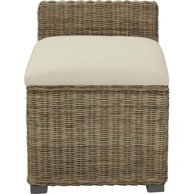 Harlem Kara Slipper Chair Fabric: Natural Gray