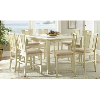 Melody 9 Piece Counter Height Dining Set