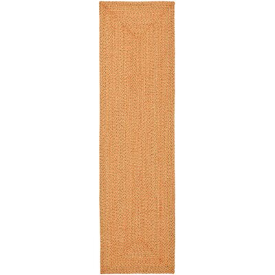 Woodlawn Hand Woven Beige/Orange Area Rug Rug Size: Runner 23 x 8