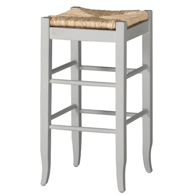 Hogan 29 Bar Stool Finish: White