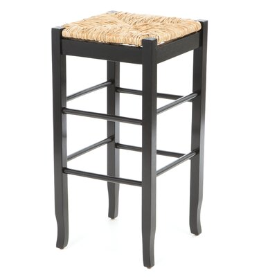 Hogan 29 Bar Stool Finish: Black