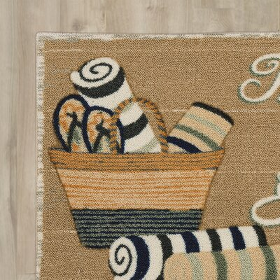 Ines�The Beach Fixes Everything Area Rug