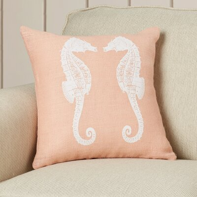Heatherfield Burlap Throw Pillow