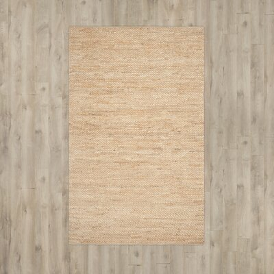 Worley Hand Woven Natural Area Rug Rug Size: Rectangle 26 x 4