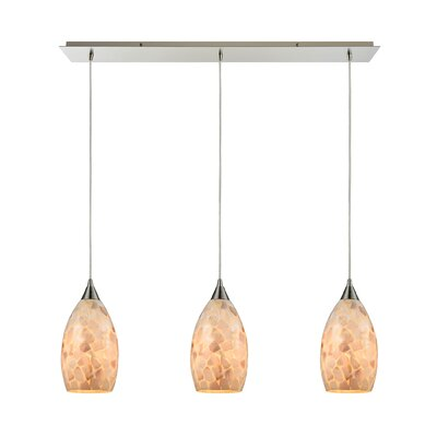 Roehampton 3-Light Kitchen Island Pendant