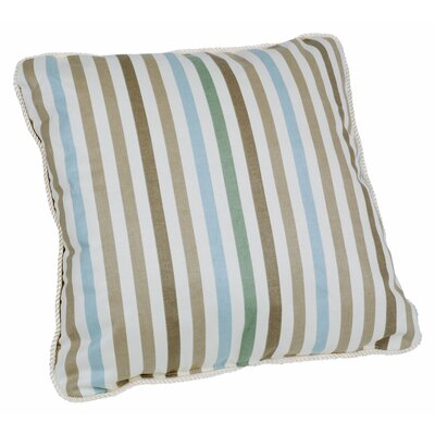 Zara Stripe Print Toss Cotton Throw Pillow