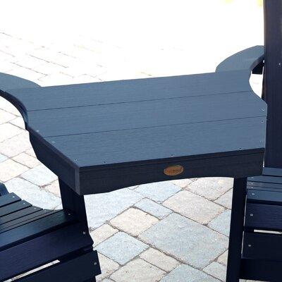 Amiya Side table Finish: Nantucket Blue