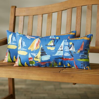 Ponce Indoor/Outdoor Lumbar Pillow Size: 12x24