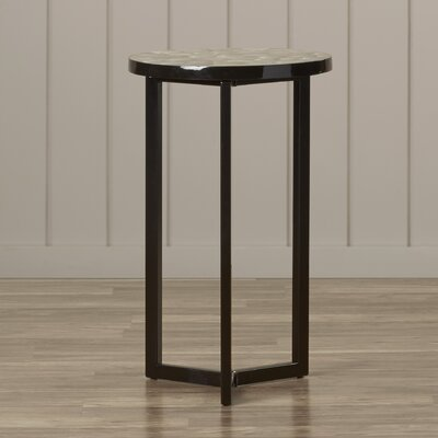 Meleri End Table Color: Brown