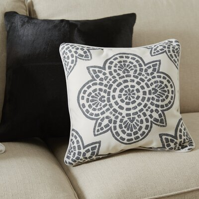 Beechwood Outdoor Throw Pillow Color: Cobalt, Size: 20 H x 20 W