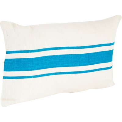 Chaliah Lumbar Pillow Color: Turquoise