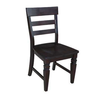 Lowell Ladderback Solid Wood Dining Chair