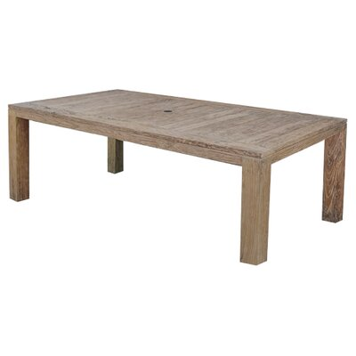 Farallon Weathered Teak Dining Table