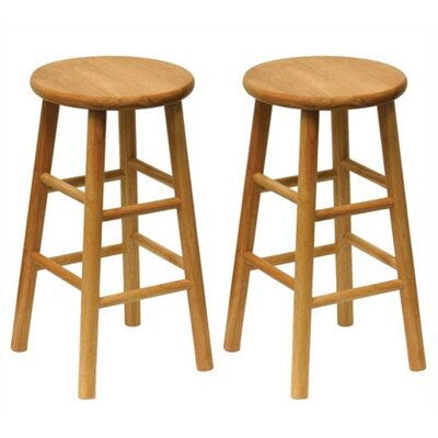 Wynyard 24 Bar Stool Finish: Natural