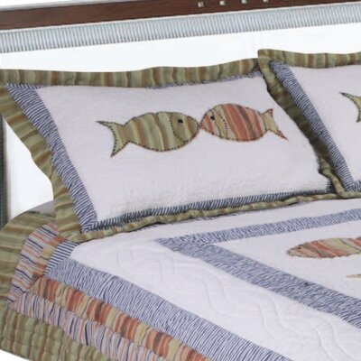Bal Harbour Handcrafted Quilt Sham