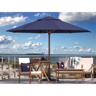 10 Humphrey Market Umbrella Fabric: Blue