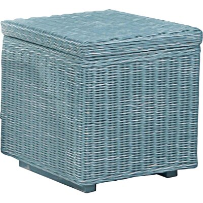 Maleah 2 Piece Storage Ottoman Set Upholstery: Blue