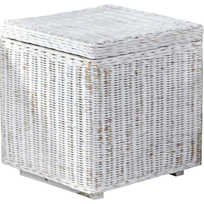 Crisfield 2 Piece Storage Ottoman Set Upholstery: White