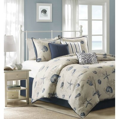 Southhampton 7 Piece Comforter Set Size: California King