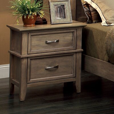 Cartwright 2 Drawer Nightstand