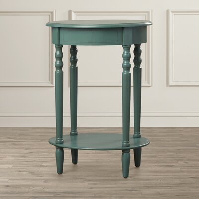 Crestmont End Table Color: Antique Teal