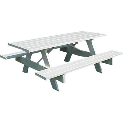 Windermere Picnic Table Table Size: 28 W x 96 D