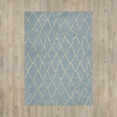 Mahoney Handmade Wave Area Rug Rug Size: 79 x 1010