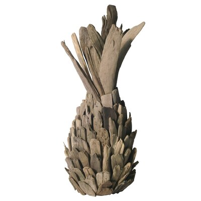 Josie Driftwood Pineapple Sculpture