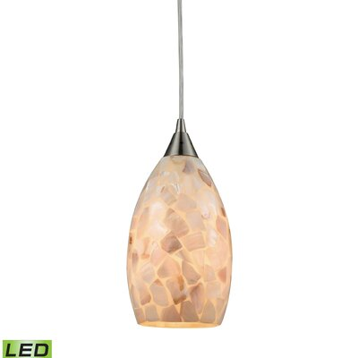 Roehampton 1-Light Mini Pendant Bulb Type: 9.5W LED